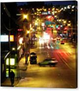Abbotsford Lights 05 Canvas Print