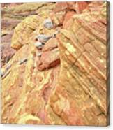 Above Wash 3 In Valley Of Fire Canvas Print