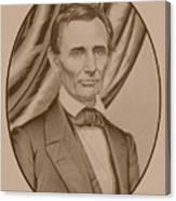 Abraham Lincoln Circa 1860  Canvas Print