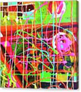 Abstract Colorful Canvas Print
