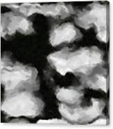 Abstract Monochome 159 Canvas Print