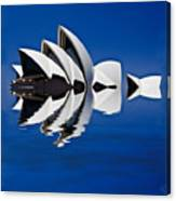 Abstract Of Sydney Opera House Canvas Print