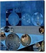 Abstract Painting - Bermuda Grey Canvas Print
