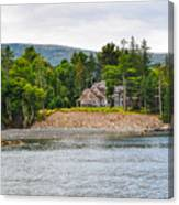 Coastal Acadia Canvas Print