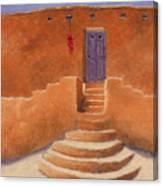 Acoma Steps Canvas Print