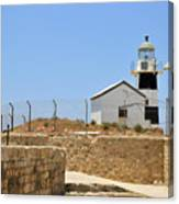 Acre, The Lighthouse  Canvas Print