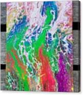 Acrylic Pouring Canvas Print