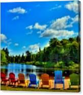 Adirondack Calm Canvas Print