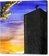 Adobe Church Canvas Print