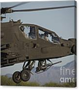 Ah-64d Apache Longbow Lifts Canvas Print