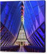 Air Force Academy Cadet Chapel Canvas Print