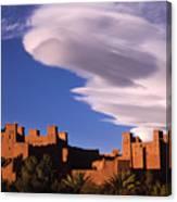 Ait Benhaddou Casbah Canvas Print