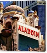 Aladdin Hotel Casino Canvas Print