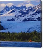 Alaska, Inside Passage Canvas Print