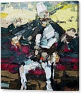 Albanian Traditional Costumes  Canvas Print