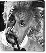 Albert Einstein (1879-1955) Canvas Print