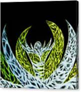 Alien Flower Canvas Print