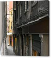 Alley #10, Venice Canvas Print