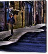 Alley Stroll Canvas Print