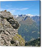 Alps Mountain Landscape  Canvas Print