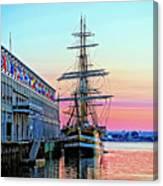 Amerigo Vespucci Tall Ship Canvas Print