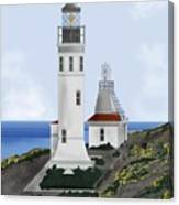 Anacapa Lighthouse California Canvas Print