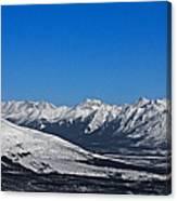 Anaktuvuk Pass Alaska Canvas Print