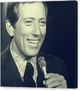 Andy Williams, Singer Canvas Print