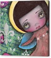 Angel Girl Canvas Print