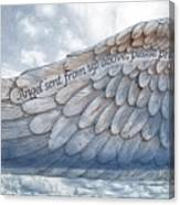 Angel Wing Canvas Print