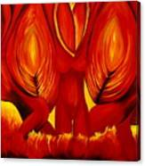 Angels Of Fire Canvas Print