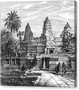Angkor Wat, Cambodia, 1868 Canvas Print