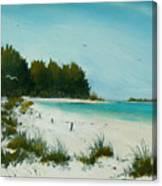 Anna Maria Beach Canvas Print