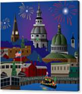 Annapolis Holiday Canvas Print