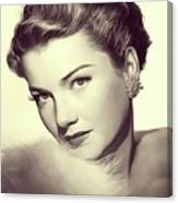 Anne Baxter, Vintage Actress Canvas Print