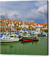 Anstruther Harbor Canvas Print