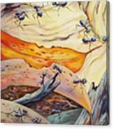 Ants Landscape Canvas Print
