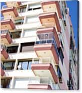 Apartment Building Canvas Print