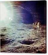 Apollo 12 Astronaut Canvas Print