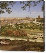 Ariccia, Near Rome, Italy Canvas Print