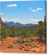 Arizona-sedona-soldier's Pass Trail Canvas Print