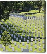 Arlington Cemetery Canvas Print