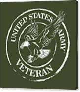 Army Veteran Canvas Print