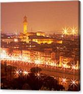 Arno River Florence Italy Canvas Print