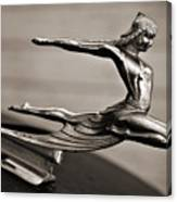 Art Deco Hood Ornament Canvas Print