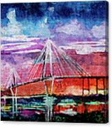 Arthur Ravenel Jr Bridge Charleston Canvas Print