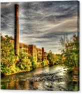 Ashton Mill, Cumberland, Ri Canvas Print
