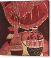Asian Still Life Canvas Print