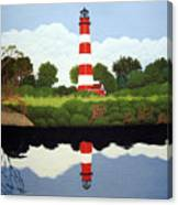 Assateague Island Lighthouse Canvas Print