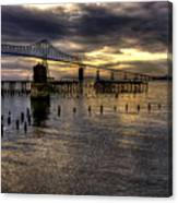 Astoria-megler Bridge 5 Canvas Print